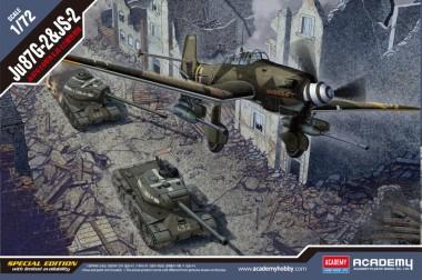 Academy 12539 Ju 87G-2 & JS-2