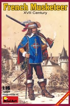 MiniArt 16009 Französischer Musketier XVII. Jhdt.