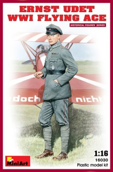 MiniArt 16030 Figur Ernst Udet WWI Flying Ace