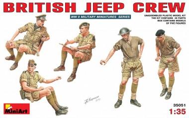 MiniArt 35051 British Jeep Crew