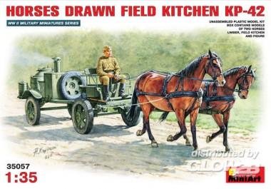 MiniArt 35057 Feldküche als Pferdefuhrwerk