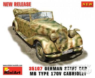 MiniArt 35107 MB 170V Cabrio Staff Car