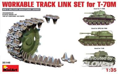 MiniArt 35146 Ketten für T-70M