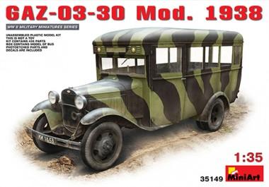 MiniArt 35149 GAZ-03-30 Mod.1938