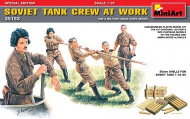 MiniArt 35153 Soviet Tank Crew at Work
