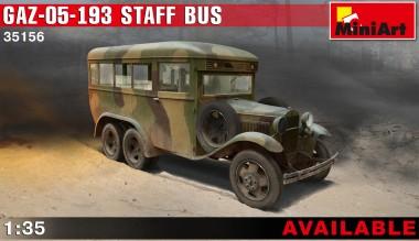MiniArt 35156 GAZ-05-193 Staff Bus