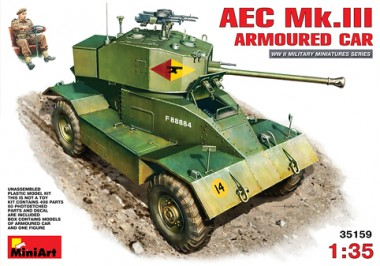 MiniArt 35159 AEC Mk 3 Armoured Car