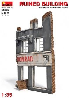 MiniArt 35536 Gebäudeteil - Hausruine
