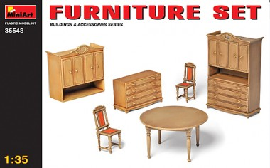 MiniArt 35548 Küchenmöbel - Furniture Set