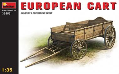 MiniArt 35553 Holzwagen Europäische Karre