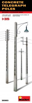 MiniArt 35563 Concrete Telegraph Poles