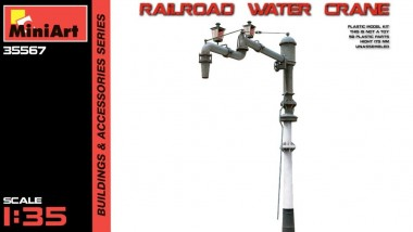 MiniArt 35567 Railroad Water Crane