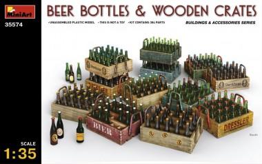 MiniArt 35574 Bierflaschen und Holzkisten