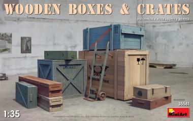 MiniArt 35581 Wodden Boxes & Crates