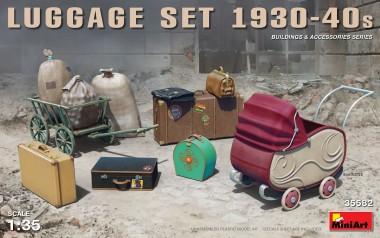 MiniArt 35582 Luggage Set - Gepäck Set 1930-1940