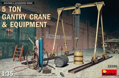 MiniArt 35589 5t Portalkran & Equipment