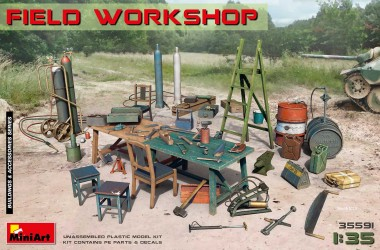 MiniArt 35591 Field Workshop