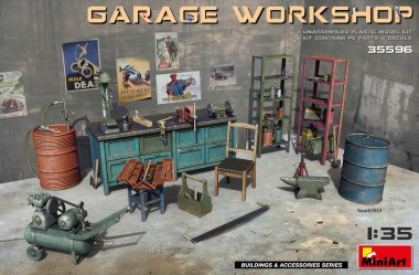 MiniArt 35596 Garage Workschop
