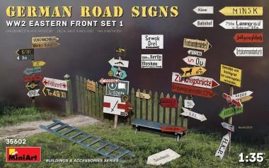 MiniArt 35602 German Road Signs Eastern Front Set 1