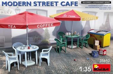 MiniArt 35610 Modernes Straßencafe