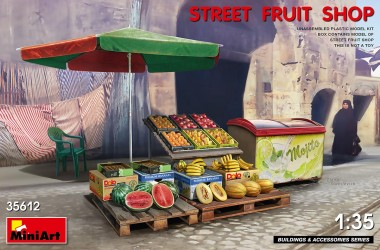 MiniArt 35612 Obstverkauf - Street Fruit Shop