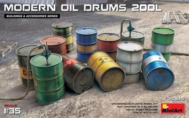 MiniArt 35615 Modern Oil Drums 200L