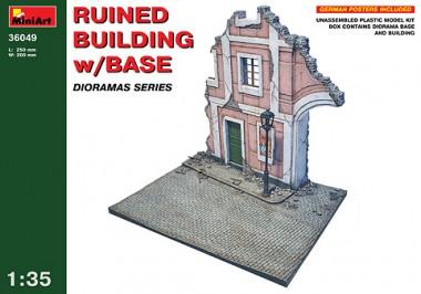 MiniArt 36049 Ruine Building w/Base