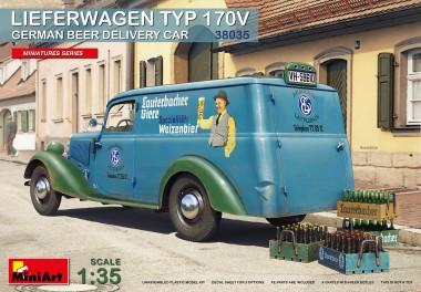 MiniArt 38035 Typ 170 V Bier-Lieferwagen