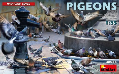 MiniArt 38036 Pigeons - Tauben