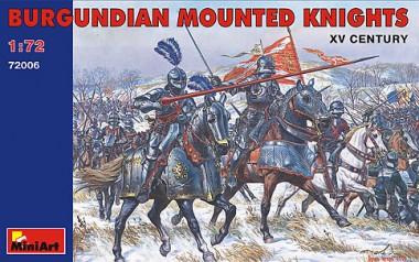 MiniArt 72006 Burgundische Ritter zu Pferd XV. Jhdt.