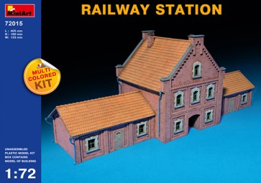 MiniArt 72015 Railway Station