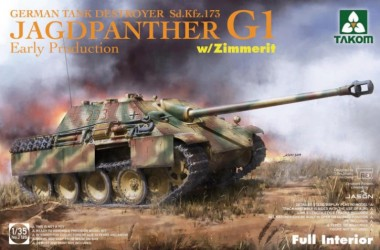 Takom 2125 Jagdpanther G1 Early Production