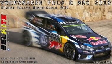 Belkits 011 VW Polo WRC  Winner Monte Carlo 2016