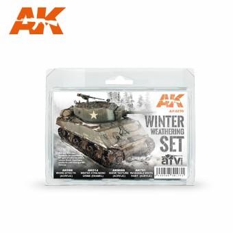 Belkits AK-4270 Winter Weathering Set
