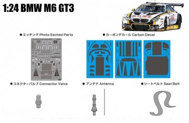 Belkits PNE24001 Grade up für BMW M6 GT3 24H SPA 2016