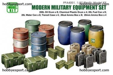 Belkits PPA4001 Modern Military Equipement Set