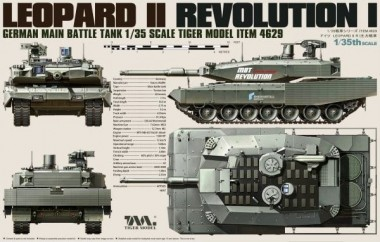 Belkits TM04629 Leopard II Revolution I - Tiger Model