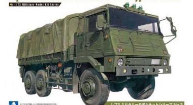 Aoshima 00234 JGSDF Type 73 Truck