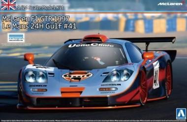 Aoshima 00752 McLaren F1 GTR 1997 LM Gulf