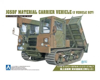 Aoshima 00797 JGSDF Material Carrier Vehicle (2in1)