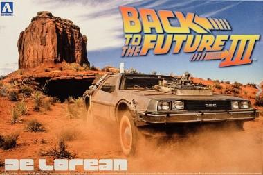 Aoshima 01187 DeLorean DMC Back to the Future 3