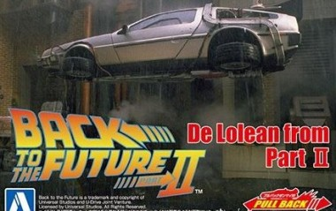 Aoshima 05476 Back To The Future Pullback  Part II
