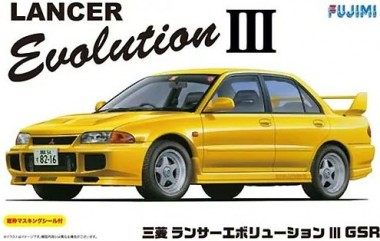 Fujimi 03917 Mitsubishi Lancer Evolution III GSR