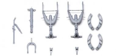 Zoukei-Mura SWS06-M01 He 219 GRADE UP (GRADE UP) Metal Struts