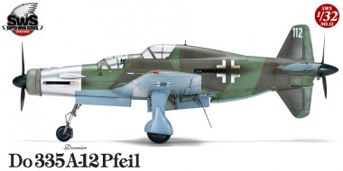 Zoukei-Mura SWS12 Dornier Do 335A-12 Pfeil