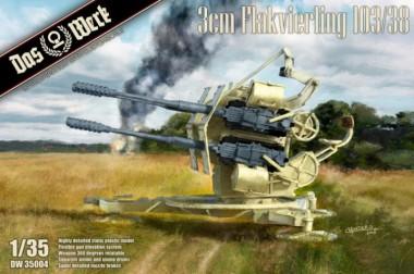Das Werk DW35004 3cm Flakvierling 103/38