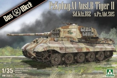 Das Werk DW35013 PzKpfwg.VI Ausf.B Tiger II