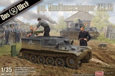 Das Werk DW35016 gep. Munitionsschlepper VK3.02