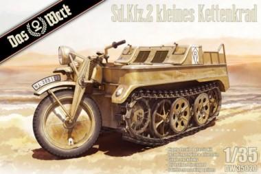 Das Werk DW35020 Sd.Kfz.2 kleines Kettendrad