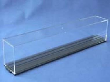 Gabriel 1003001 Vitrine H0 Spurrille 300mm anthrazit